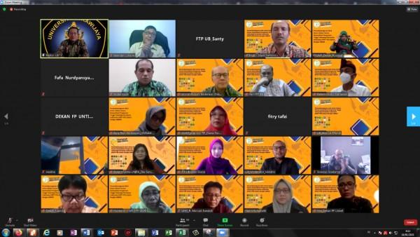 34 Dekan FTP se -Indonesia yang melakukan penandatanganan MoA  (Ist)