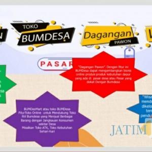 Genjot Inovasi, Marketplace BUMDesa Tulungagung Dilaunching