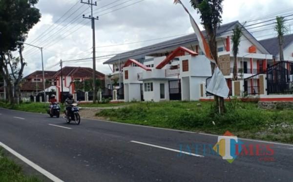 Gedung SMPN 03 Kota Blitar di Kelurahan Tanggung