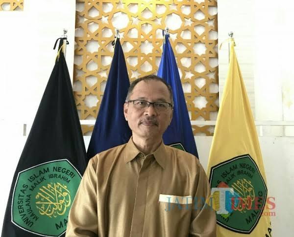 Rektor UIN Maliki Malang, Prof Abdul Haris (Doc MalangTIMES)