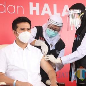 Vaksinasi Covid-19 Pemprov Jatim, Gubernur Khofifah Tak Ikut
