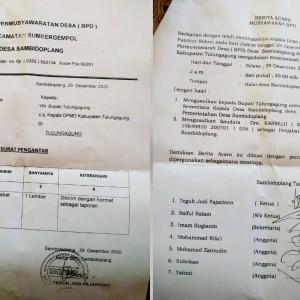 Ajukan PJs Kades, BPD Sambidoplang Kecewa Pilihannya Dimentahkan