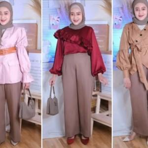 Inspirasi Tampil Gaya Chic untuk Formal atau Casual Ala Hijabers Seviq Febinita
