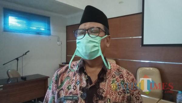 Kepala Dinas Perikanan Kabupaten Bangkalan Mohammad Zaini (Foto: Imam JatimTIMES)