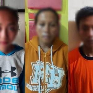 Nekat, Ibu Hamil Sekap Pemilik Warung dan Rampas Uang Jutaan Rupiah