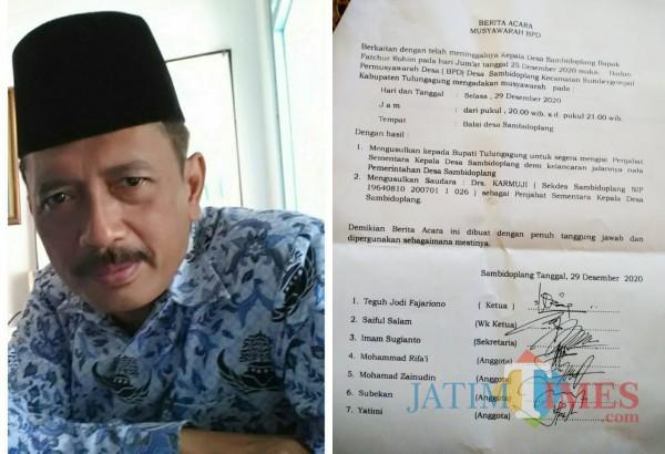 Namanya Dimentahkan Pihak Kecamatan Jadi Pjs Kades, Sekdes Sambidoplang Angkat Suara