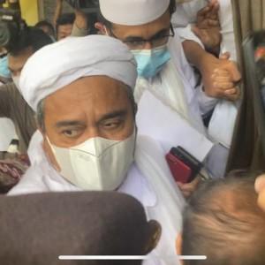 Rizieq Shihab Resmi Dipindah ke Rutan Bareskrim Polri, Ngaku Lebih Menikmati