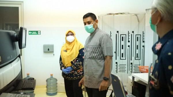 Datangi Kantor PMI Kota Kediri, Mas Abu Pastikan Kesiapan Donor Plasma Konvalesen