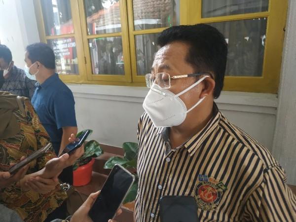 Wali Kota Malang, Sutiaji saat ditemui di Kantor Bupati Malang, Sabtu (16/1/2021)