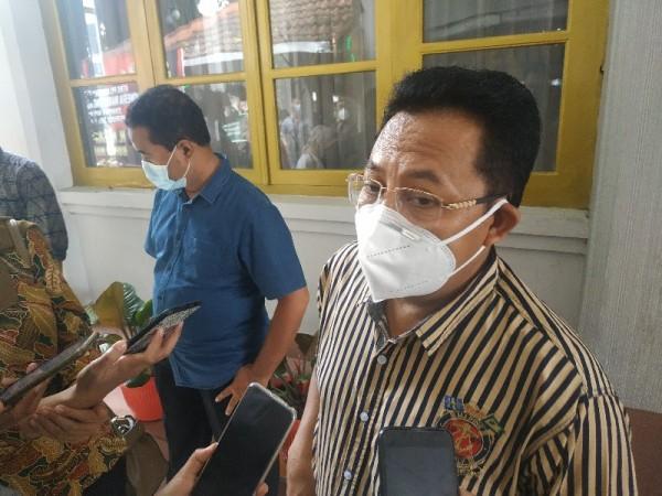 Wali Kota Malang Sutiaji saat ditemui di Kantor Bupati Malang, Sabtu (16/1/2021)