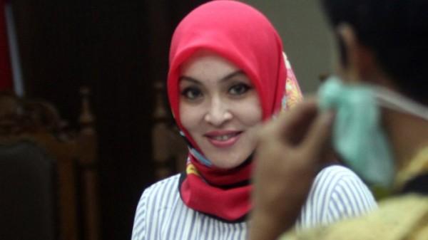 Angelina Sondakh (Foto: Tribunnews)