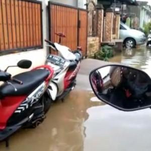 Kota Sumenep Terendam Banjir