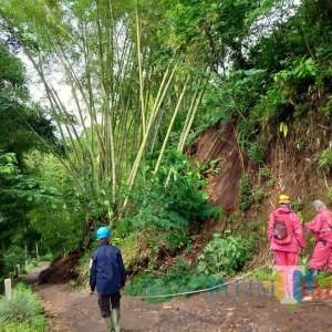 Kota Batu Diteror Longsor, Terbaru di Dusun Gangsiran