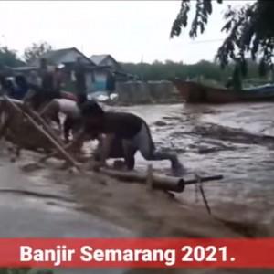 Video Detik-detik Banjir Bandang di Semarang, Air Berasal dari Luapan Sungai!