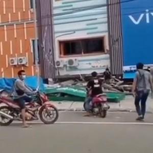 Viral Video Aksi Penjarahan Toko HP di Mamuju usai Gempa, Pelaku Berhasil Ditangkap