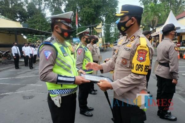 Partisipasi Donor Plasma Anggota Polres Lumajang Diapresiasi Pimpinan