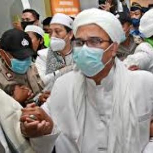 """Belum Membaik, Begini Kesehatan Rizieq Shihab di Tahanan, """"Mohon Doanya"""""""