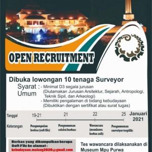 Buruan Daftar, Disdikbud Kota Malang Butuh 10 Tenaga Surveyor, 5 Jurusan Ini Diutamakan
