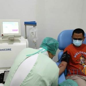 Dosen di Kediri Donor Plasma Konvalesen Pertama di Kota Kediri