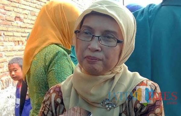 Kepala Dinsos-P3AP2KB Kota Malang Peny Indriani saat ditemui pewarta beberapa waktu lalu. (Foto: Dok. JatimTimes)