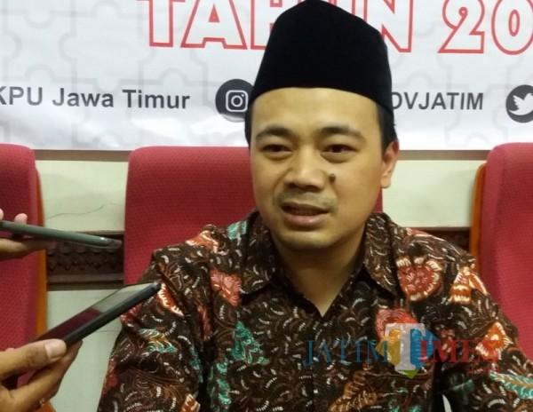 Komisioner KPU Jatim, M Arbayanto