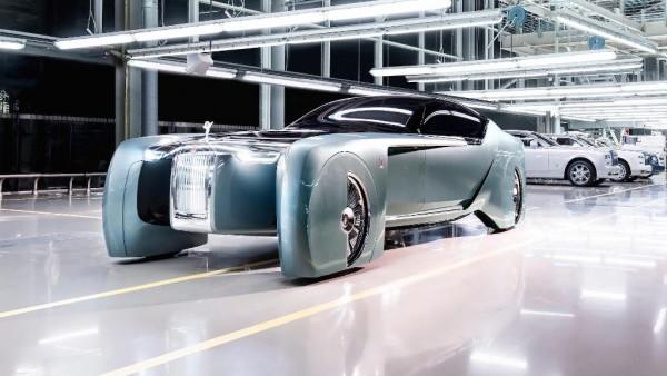 Mobil listrik Rolls-Royce (Foto:  Mega Ricos)