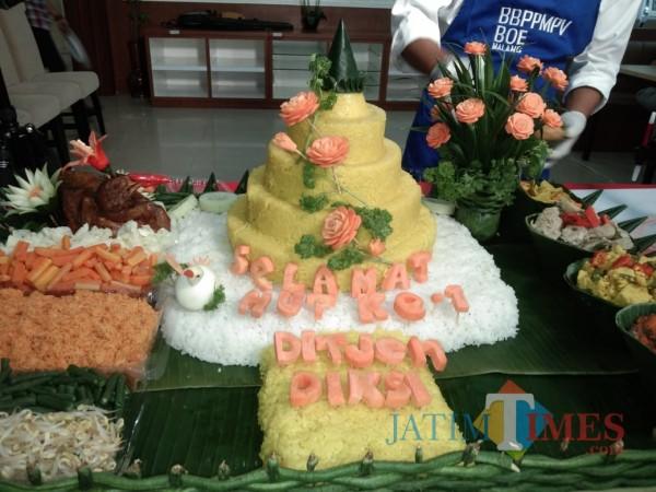 BBPPMPV BOE Kota Malang Gelar Lomba Tumpeng Perdana 2021