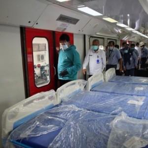 Ruang Isolasi di Kota Madiun Penuh, PT INKA Sulap 24 Gerbong Kereta Jadi Ruang Isolasi