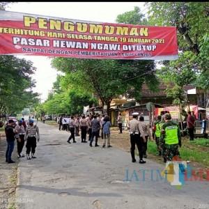 Jadi Jujukan Pedagang Lintas Daerah, Sepuluh Pasar Hewan di Ngawi Ditutup sementara