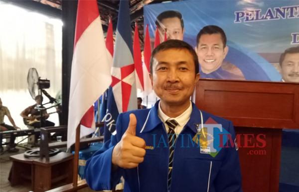 Ketua DPC Partai Demokrat Kota Malang Arif Darmawan. (Foto: Dokumentasi MalangTIMES).
