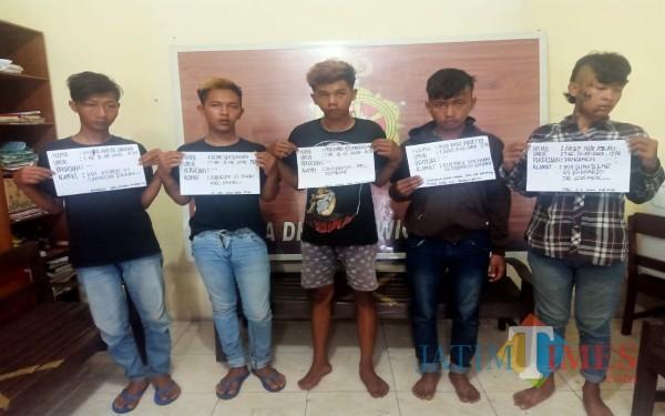 Tersinggung Dipandang, 5 Pemuda Keroyok Pria Hingga Babak Belur