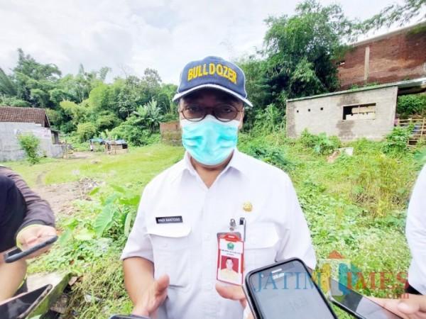 Kepala Dinas Pekerjaan Umum Penataan Ruang Perumahan dan Kawasan Permukiman (DPUPRPKP) Kota Malang, Hadi Santoso. (Arifina Cahyanti Firdausi/MalangTIMES).