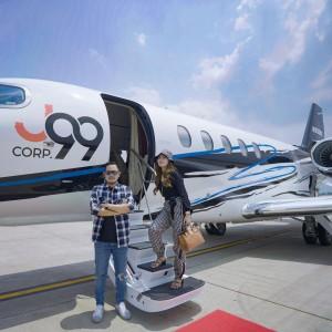 Aksi Crazy Rich Malang Pamer Jet Pribadi, Langsung Dipakai untuk Misi Kemanusiaan