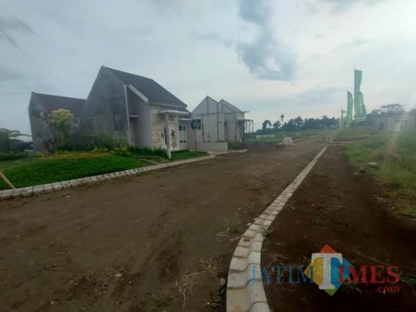 Perumahan Taman Tirta yang asri nan hijau dengan taman yang dibangun dilingkungan perumahan (Ist)