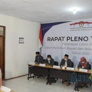 Pilkada Trenggalek Selesai, KPU Tetapkan Ipin-Syah sebagai Paslon Terpilih