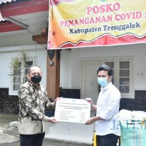 Wagub Emil Pulang Kampung, Bawa Bantuan Covid-19 untuk Trenggalek