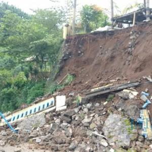 Awal Tahun 2021, 23 Kali Tanah Longsor Terjadi di Kabupaten Malang