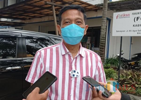 Sekretaris Daerah Kabupaten Malang Wahyu Hidayat (Hendra Saputra)