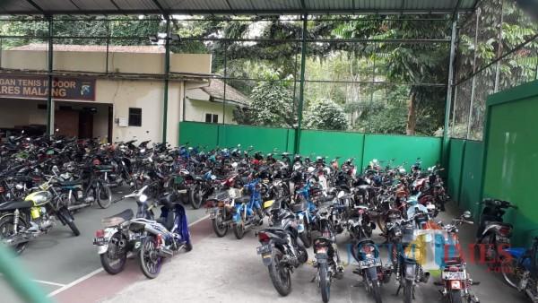 Ratusan Sepeda Motor Tunggu Pemilik, Deadline Pengambilan 19 Februari