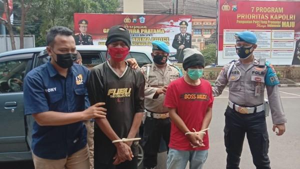 Polisi Bekuk Dua Pembobol Bengkel Onderdil