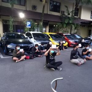 Operasi Balap Liar, Satlantas Polresta Malang Kota Amankan 24 Kendaraan