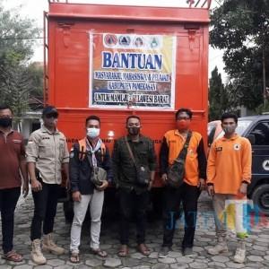 BPBD Pamekasan Salurkan Bantuan Paket Sembako bagi Korban Gempa Sulbar