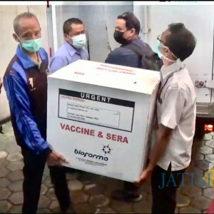 1.280 Vaksin Covid-19 Sinovac Datang di Kota Batu