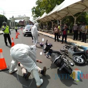 Satlantas Polres Ngawi Gelar Pelatihan TPTKP Dan Olah TKP