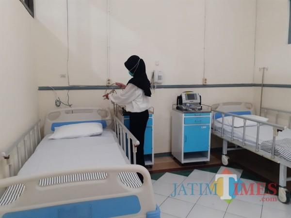 Sebulan Beroperasi, 402 Pasien Covid-19 yang Dirawat di RS Lapangan Kota Malang Sembuh