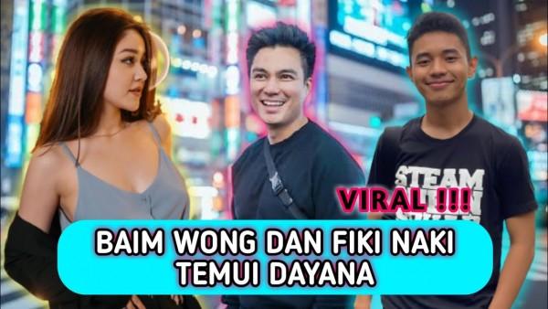 Baim Wong ajak Fiki Naki temui Dayana (Foto: YouTube)