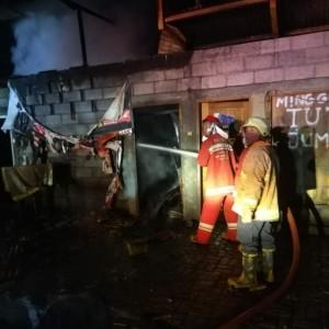 Bengkel Ludes Terbakar, Kerugian Diperkirakan Rp 40 Juta