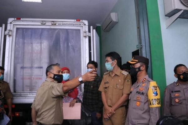 2.340 Vaksin Covid-19 Tiba di Kabupaten Madiun dengan Pengawalan Ketat