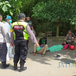 Ambulans Tabrak Pemotor di Blitar, 2 Orang Terluka