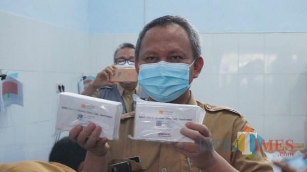 2 Ribu Vaksin Covid-19 Diterima Kabupaten Trenggalek